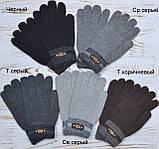 Перчатки мужские сенсорные L Сенсорные перчатки, Черный, фото 2