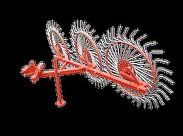 Граблі ШИП для мототрактора ворошилки 3-колісні «Сонечко» (кріплення - 1 точка)