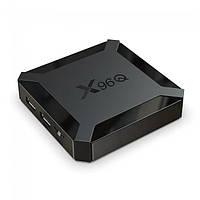TV приставка Allwinner X96Q H313, 2GB RAM, 16GB ROM, черная