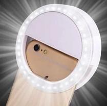 LED подсветка Selfie Ring Light RK12 светодиодная лампа для телефона селфи кольцо 36 светодиодов new, фото 3