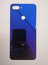 Задня кришка для Xiaomi Mi 8 Lite Blue Оригінал