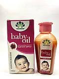 Аюрведическое масло с Кашмирским шафраном Pankajakasthuri Herbals Baby  oil 100 мл, фото 2