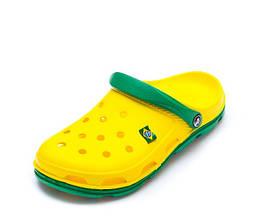 Шлёпки Кроксы 116113 44р 27,7 см Желтый