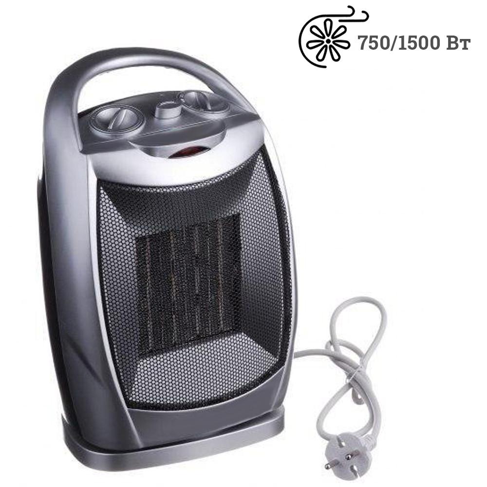 Компактный электрический тепловентилятор керамический BITEK BT-4119 Ceramic дуйчик для обогрева дома 1.5кВт
