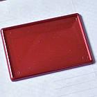 Заготовки для акриловых магнитов, красные перламутровые 95х65 мм, фото 89х59 мм, фото 2