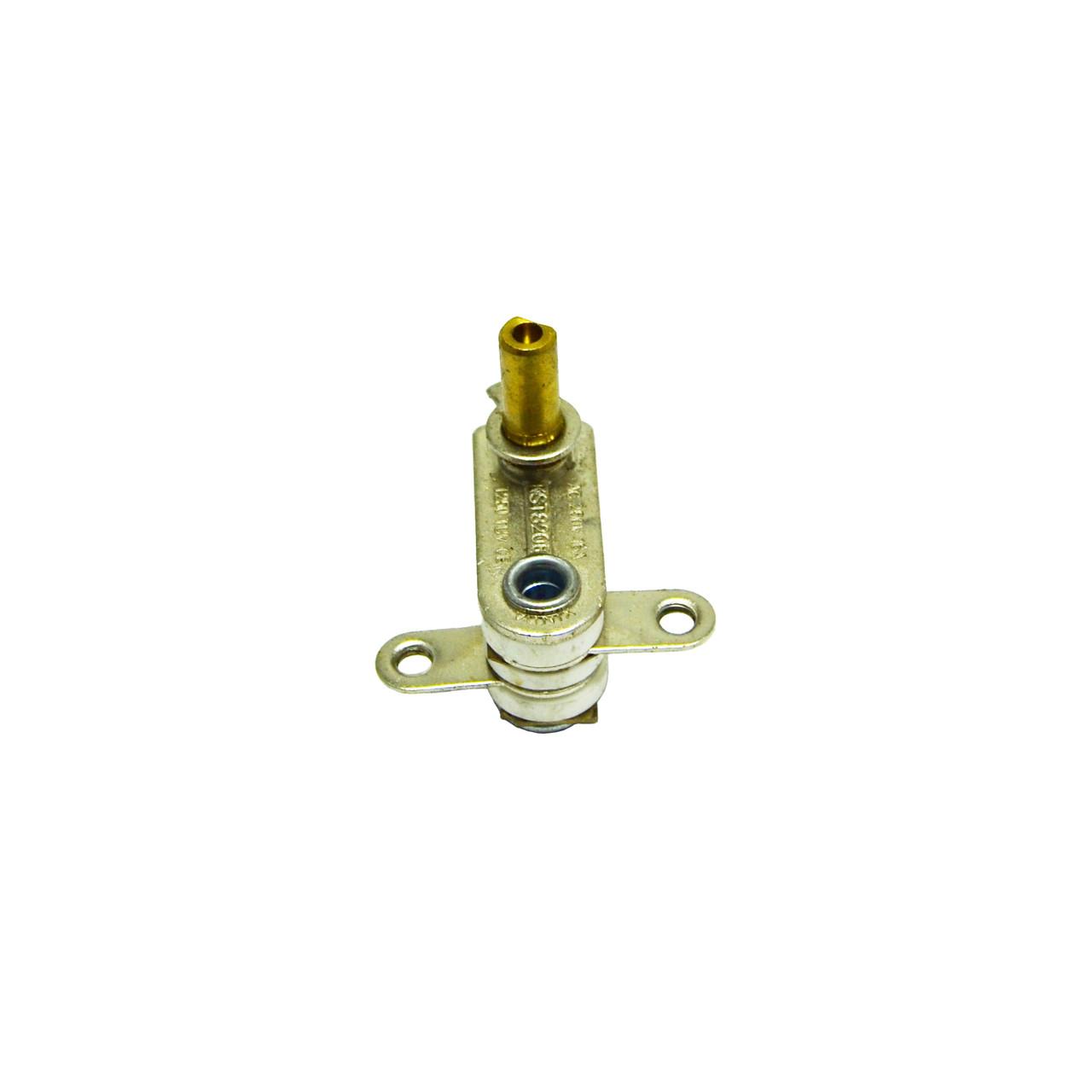 Терморегулятор KST 820B для обогревателя, утюга (16А, 250V, T250, ножки прямые под 180 °)