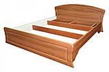 Кровать двуспальная Дженифер КТ-659 с метал. каркасом (БМФ) 1780х380х1100мм , фото 3