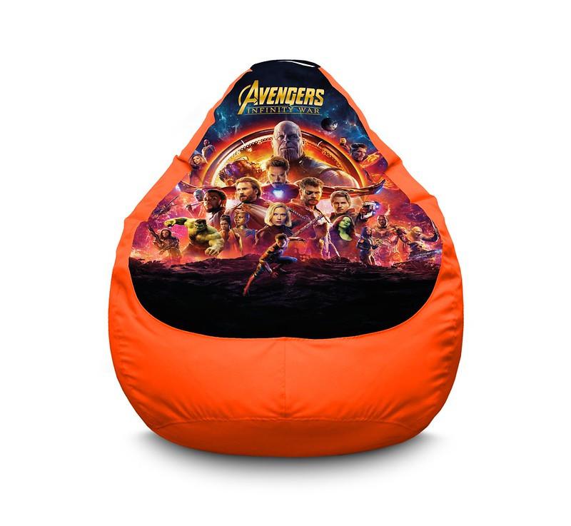 "Кресло мешок груша ""Avengers. Infinity war"" Оксфорд"