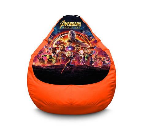 "Кресло мешок груша ""Avengers. Infinity war"" Оксфорд, фото 2"