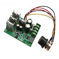 Регулятор напряжения постоянного тока с индикатором, 60В, 30А диммер