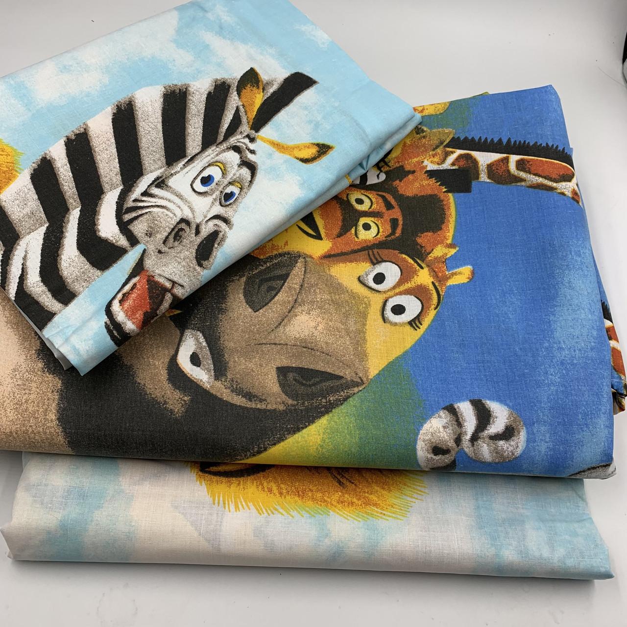 Полуторный комплект (1.0) постельного белья Мадагаскар (50х70)