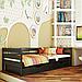 Ліжко дитяче дерев'яне Нота (бук), фото 6
