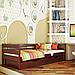 Ліжко дитяче дерев'яне Нота (бук), фото 4
