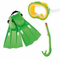 Маски, трубки, ласты, очки, шапочки 55955 для плавания
