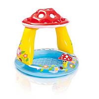 Надувной бассейн,мухомор 57114