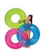"""Надувной круг """"Прозрачный"""" Intex 59260. Упаковка 24 штук"""