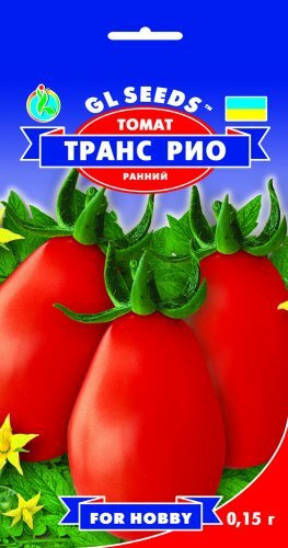 Семена Томата Транс Рио (0.15г), For Hobby, TM GL Seeds
