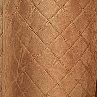 Алькантара на поролоне ткань для обшивки автомобиля пошив чехлов обшивка карт дверных сублимация 550 ромб, фото 1