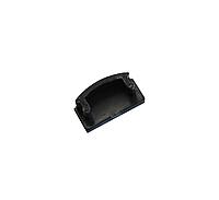 Заглушка для профиля ЛП-7 (черная) без отверстия UKRLed (20987)