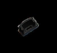 Заглушка для профиля ЛП-7 (черная) с отверстием UKRLed (20988)