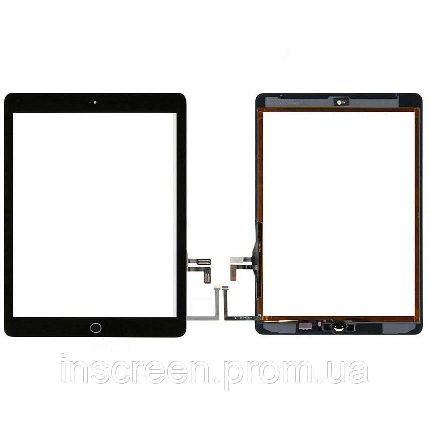 Сенсор (тачскрін) Apple iPad 9.7 2017 A1822, A1823 чорний, повний комплект, Оригінал Китай, фото 2