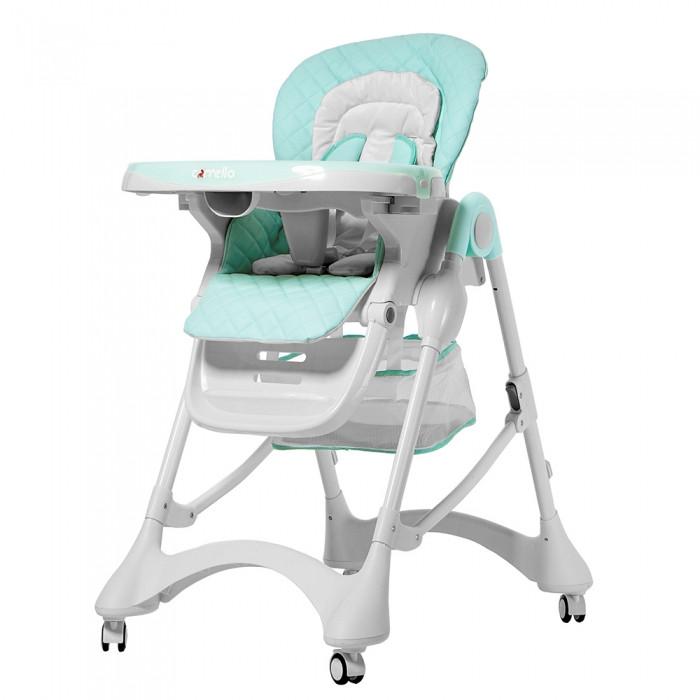 Стульчик для кормления CARRELLO Бирюзовый стульчик для кормления  Кресло для прикорма для ребенка с 6 мес