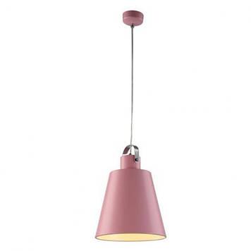 Светильник подвесной NOVA Е27 розовый  в стиле Loft