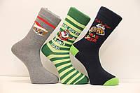 Мужские носки стрейчевые новогодние EKMEN Ф14   м-5