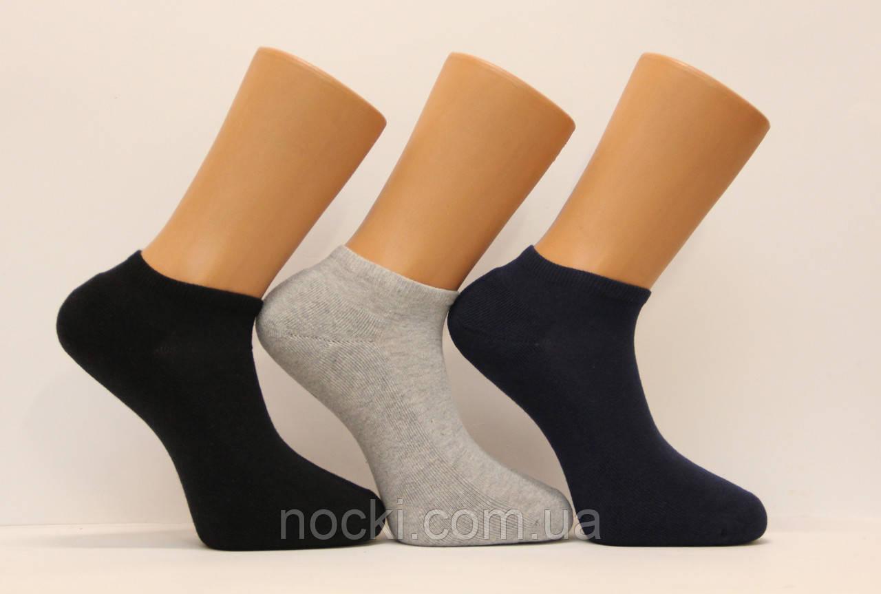 Мужские носки короткие с махровой подошвой PIER LONE  ассорти