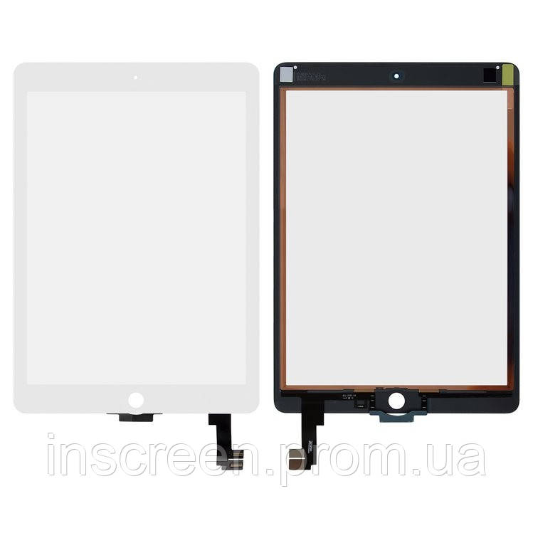 Сенсор (тачскрін) Apple iPad Air 2 A1566, A1567 білий, копія, фото 2