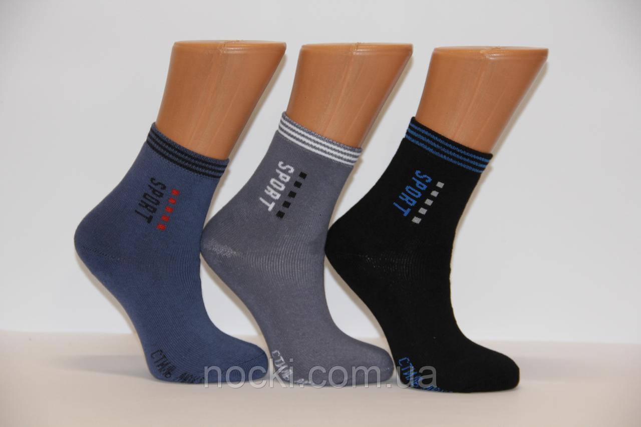 Детские носки махровые для подростков Стиль люкс  20-22  504