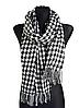 Теплый шарф Стелла 180*65 см черный