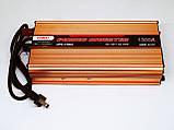 Инвертор UKC 1300W с Зарядкой 12V 220V  Преобразователь, фото 2