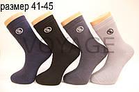 Чоловічі шкарпетки махрові з бамбука Style Luxe 41-45 асорті