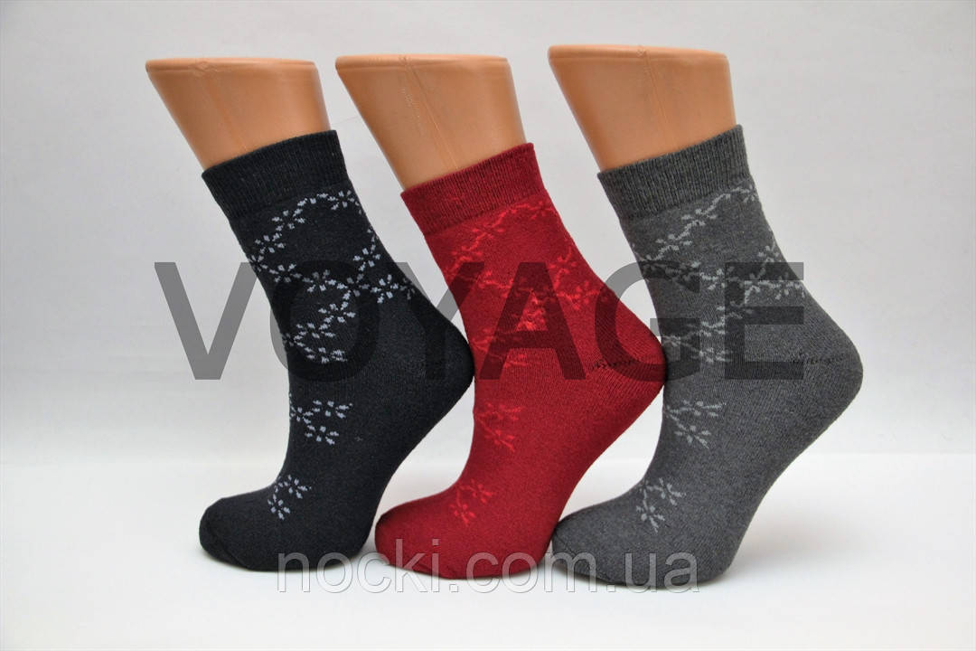 Жіночі шкарпетки махрові тэрмо JNLEP jle 21