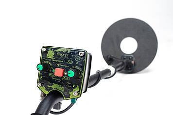 Металлоискатель Пират Li-ion аккумулятор, глубина поиска до 2 м. + ПОДАРКИ. Металлодетектор, Металошукач, фото 2