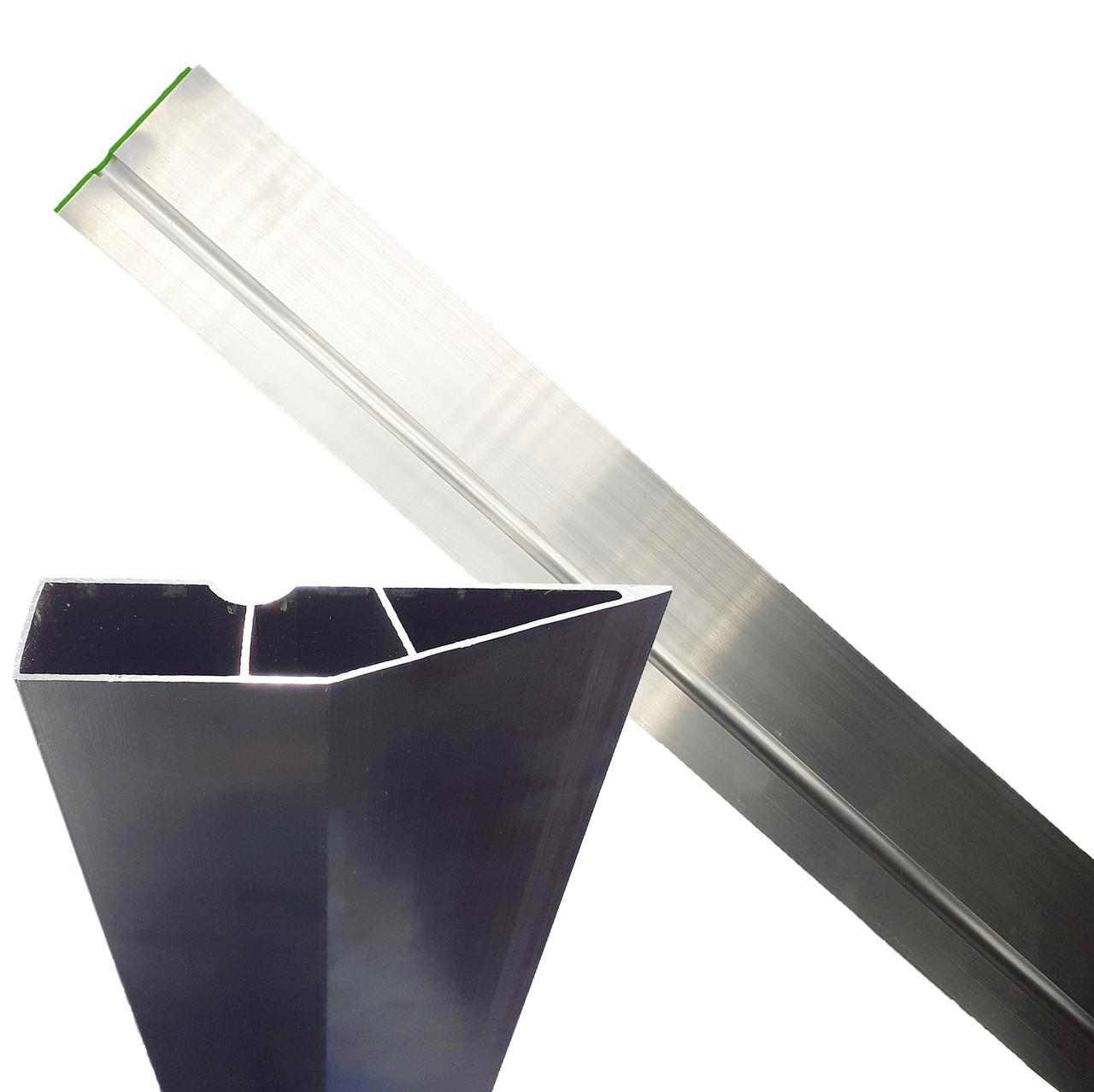 Рейка для штукатурных работ, 2 ребра жёсткости, 250 см HTools, 29B154