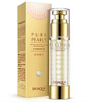 Увлажняющая омолаживающая сыворотка для лица с жемчужной пудрой Bioaqua Pure Pearls, 60g