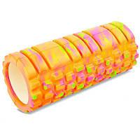Массажер, валик, ролик массажный для спины, ролик для йоги, валик массажный MS 0857-1 (4 цвета)