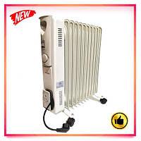 Обогреватель масляный бытовой Crownberg CB-11S 2500W электрический радиатор