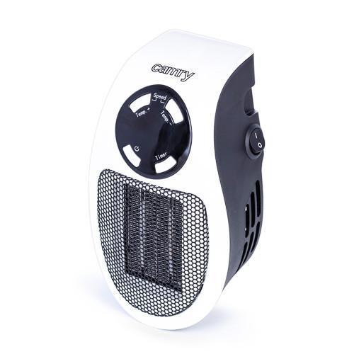 Портативный мини обогреватель Camry CR 7712 - Easy heater тепловентилятор в розетку макс мощность 700вт