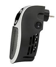 Портативный мини обогреватель Camry CR 7712 - Easy heater тепловентилятор в розетку макс мощность 700вт, фото 2