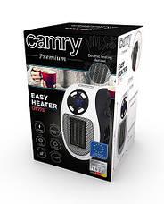 Портативный мини обогреватель Camry CR 7712 - Easy heater тепловентилятор в розетку макс мощность 700вт, фото 3