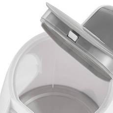 Электрочайник пластиковый Adler AD 1208 white 1,8 литр, фото 2