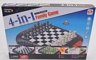 Развивающая настольная игра магнитные шахматы для всей семьи 4 в 1