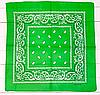Классическая бандана 55*55 см светло-зеленый