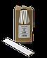 Трубочка бумажная B.A.R. 197x6 мм, 250 шт. Белая (2133), фото 3
