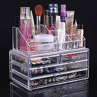Акриловый органайзер для косметики настольный Cosmetic Organizer РАСПРОДАЖА, фото 1