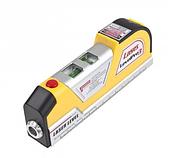 Будівельний лазерний рівень 4 в 1 Laser Level Pro 3 з рулеткою (KG-211), фото 3