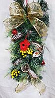 Новогодняя композиция с ягодами, 85